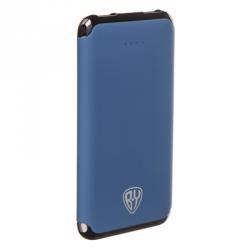 Аккумулятор мобильный, 6000мАч, 2xUSB, 2А, покрытие Soft-touch, пластик