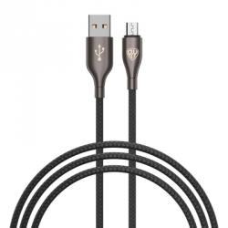 Кабель для зарядки Керамика, Micro-USB, 1м, 3.0А, Быстрая зарядка QC3.0, коробка