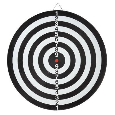 "341-083 Дартс 15"" с 6 стрелами 15""х2/5"", 37см, пластик, бумага, металл, BL-15326"