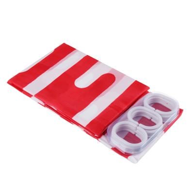 """461-042 VETTA Шторка для ванной, ПЕВА, 180x180см, """"Дождь"""", 3 цвета"""