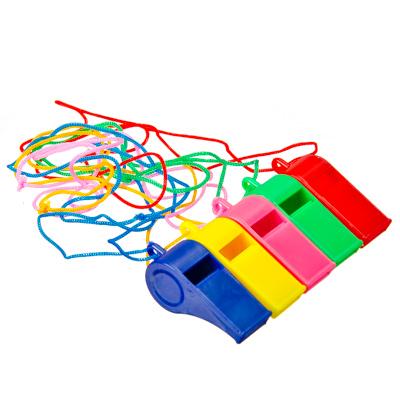 343-069 Свисток на веревке, 4см, пластик