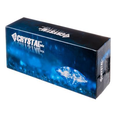 562-320 CRYSTAL mix Смеситель Аква Тач для ванны, дл. изогн. излив, керам. картридж 40 мм, хром