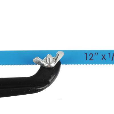 663-340 Ножовка по металлу малая (набор 2 предмета, держатель 200мм, полотно 310х7мм)