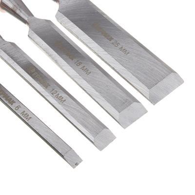 667-361 Набор стамесок 4пр деревянная ручка