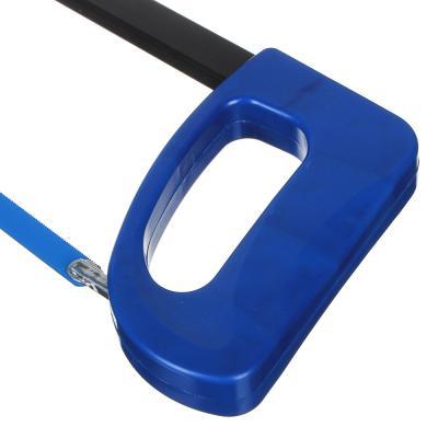 663-476 Ножовка по металлу, оранж. ручка (набор 2 пр: держатель 420х140мм, полотно 310х7мм)