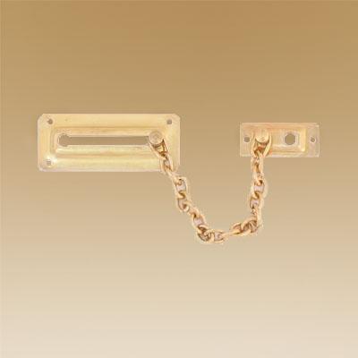 602-510 Цепочка дверная, металл, золото
