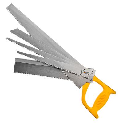 663-703 Ножовка наборная (полотна 25.2мм, 26мм, 29.3мм, 29.5мм, 34.5мм, рукоятка)