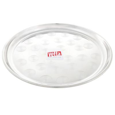 833-006 Поднос круглый VETTA 30см, сталь