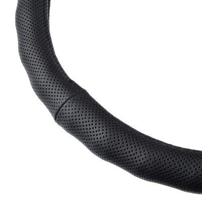 708-274 NEW GALAXY Оплетка руля, натуральная кожа, черный, разм. (М)