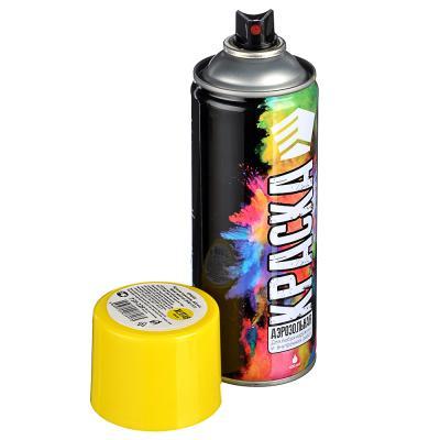 759-229 ЕРМАК Краска аэрозоль 400мл, ярко-желтая (9001/41)