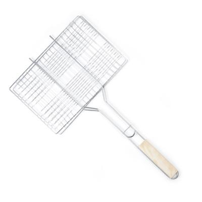 104-090 GRILLBOOM Барбекю решетка для мяса, 35x(23+37.5), XT-BB-02
