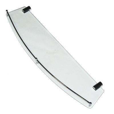 568-367 Полка для ванной комнаты, 51,3х13 см HS-1001 стекло