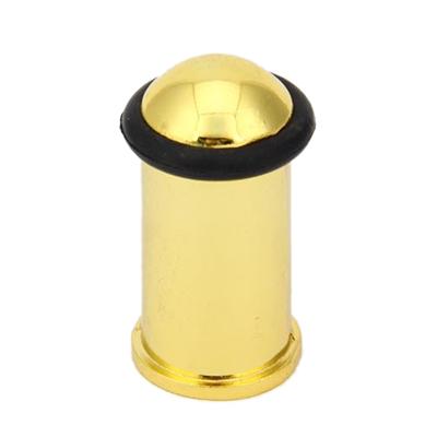 602-036 Упор дверной, 45х36х15мм, золото
