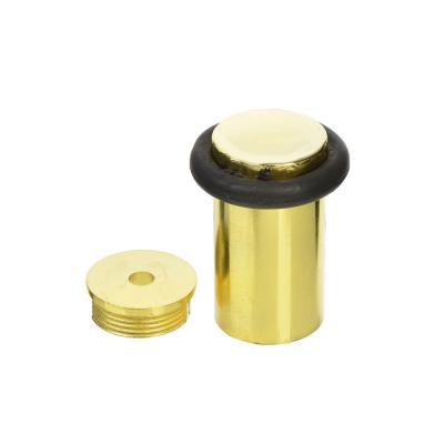 602-040 Упор дверной, металл, 45х36х15мм, золото