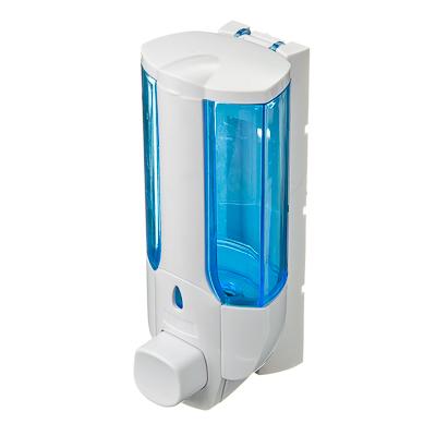 568-870 Дозатор для мыла 350мл, 7*8*19см, пластик белый, HS-41401