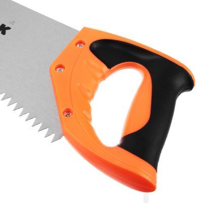 663-848 ЕРМАК Ножовка по дереву 3A, 400мм, зуб 8мм.