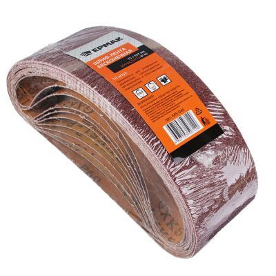 645-045 ЕРМАК Шлиф-лента бесконечная 75x533мм Р60, 10шт