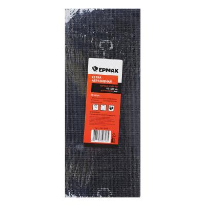 645-048 ЕРМАК Сетка абразивная /карбид кремния/ 115х280 Р40 (цена за 10шт)