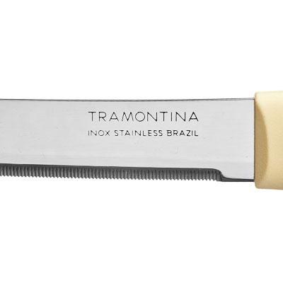 871-081 Кухонный нож с зубцами 8 см Tramontina Multicolor, 23528/213