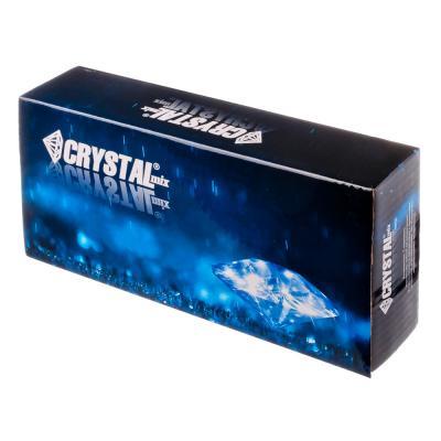 """562-727 CRYSTAL mix Смеситель Виолет 858 для ванны, дл. излив, керам. кран-буксы 1/2"""", хром"""