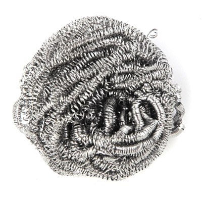 441-145 Губка металлическая в пакете, 15 гр, VETTA