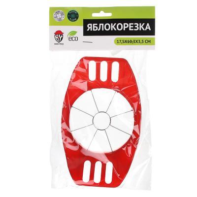 884-349 Яблокорезка пластик/металл, 17,5x10,3x3,5 см