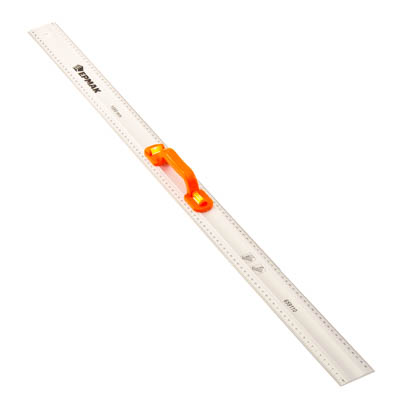 659-110 ЕРМАК Линейка алюминиевая с уровнем 100см
