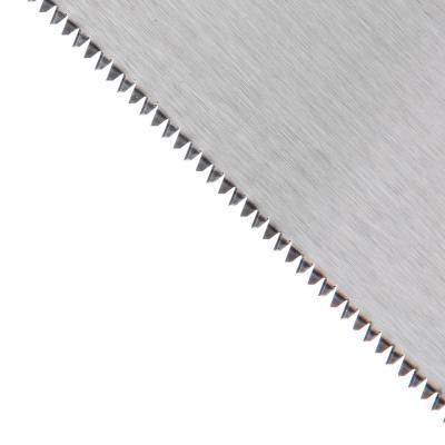 663-384 ЕРМАК Ножовка по дереву, трехстор.заточка, 500мм, закаленный зуб