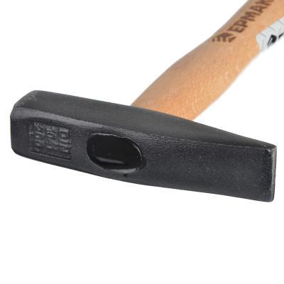 662-404 ЕРМАК Молоток кованый с деревянной ручкой 200гр.