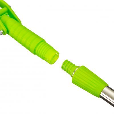 444-166 VETTA Швабра ПВА съемная ручка 110см, двойной ряд роликов, арт. Z230PDF A