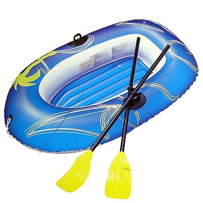 035-655 BESTWAY Лодка надувная Kondor 1000 с вёслами, ПВХ, 155х97см, 61078