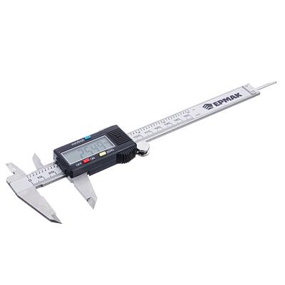 660-116 ЕРМАК Штангенциркуль электронный, 150мм, (MT-027 мал. экран)