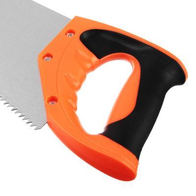 663-796 ЕРМАК Ножовка по дереву 10B, 450мм, зуб 5мм.