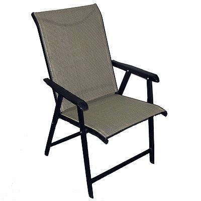 "121-164 Кресло складное ""коттедж"" 60х45х96см макс.нагрузка: 100 кг КТ-313"