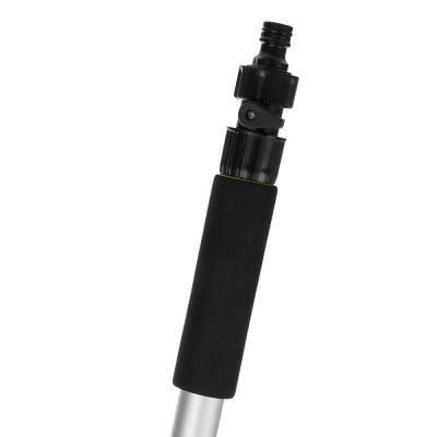 771-113 NG Щетка для мытья автомобиля телескопическая с краником под воду, 107-168см