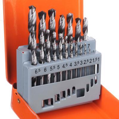 649-215 Набор сверл 19пр 1.5 - 10мм в метал. коробке