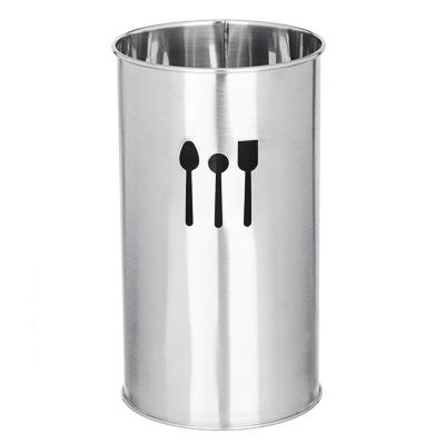 812-046 Подставка под кухонные принадлежности, 10х18,5см, сталь, VETTA