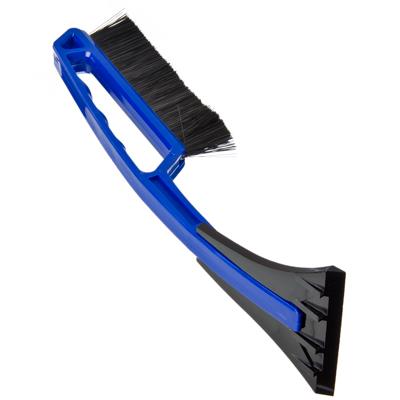 775-055 NEW GALAXY Щетка сметка+скребок, 34см, синяя, IP 121