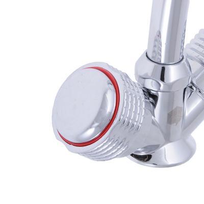 """566-008 Смеситель для кухни, керамические кран-буксы 1/2"""", хром, без подводки, Quartz 9831 (НВ20)"""