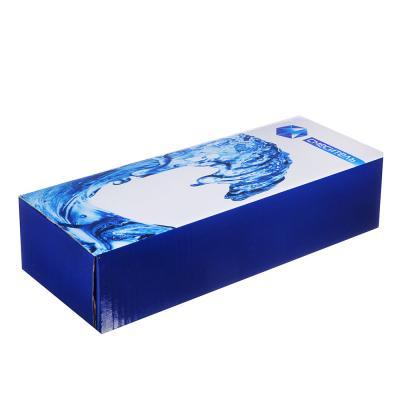 """566-032 Смеситель для ванной, длинный излив, керамические кран-буксы 1/2"""", хром, Quartz 9893 (НВ31)"""