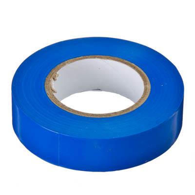 672-006 Изолента премиум класс 18мм-20м синяя