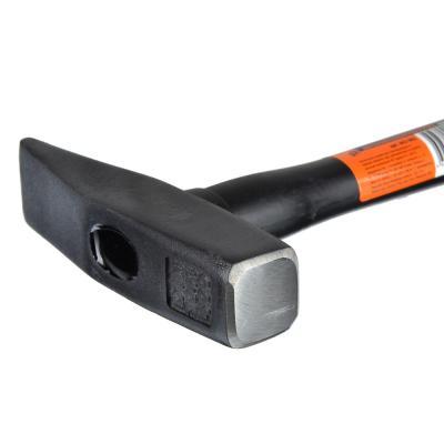 662-002 ЕРМАК Молоток кованый с фиберглассовой двухкомпонентной ручкой 400г