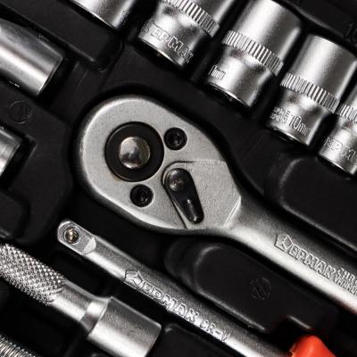 736-053 ЕРМАК Набор профессионального инструмента, 46 предм.
