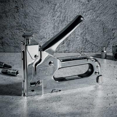 648-016 ЕРМАК Степлер мебельный регулируемый (4-14мм)х11,3мм