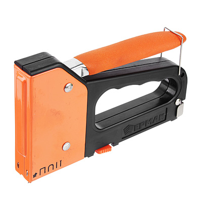 648-022 ЕРМАК Степлер мебельный пластик 4-х функцион. (6-14мм)х10,6мм
