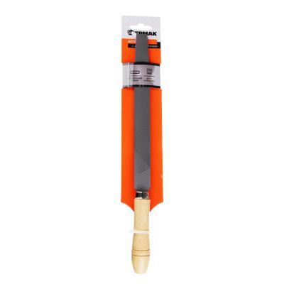 645-017 ЕРМАК Напильник с дерев.ручкой плоский 200мм