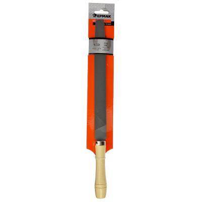 645-018 ЕРМАК Напильник с дерев.ручкой плоский 250мм