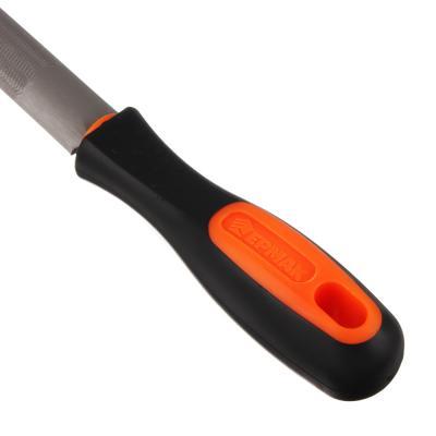 645-033 ЕРМАК Напильник с дерев.ручкой п/круглый 200мм