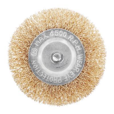656-033 Набор щеток металл со шпильками 5 пр (50,75мм -пл., 25,50,75мм- чашки)