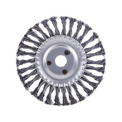 656-052 ЕРМАК Щетка металл. для УШМ175мм/22мм, крученая, дисковая